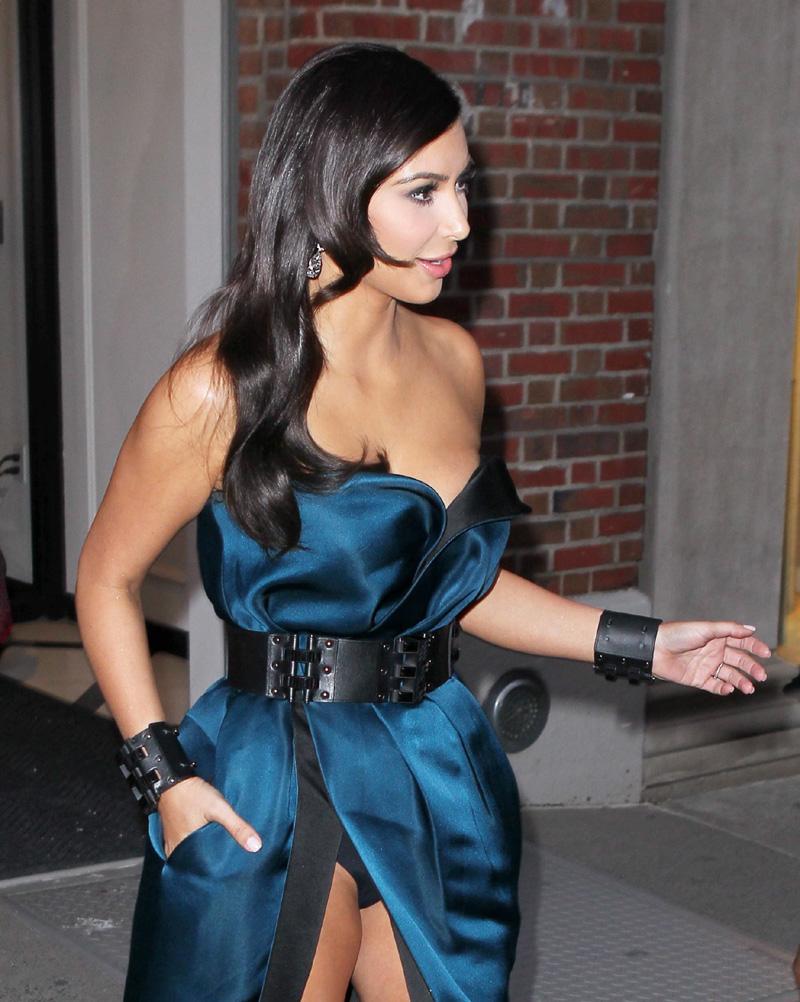 Kim Kardashian Pantie Upskirt at the Met Gala