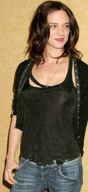 Asia Argento, A Stiff Upper Nip Will Work Wonders For Your Career