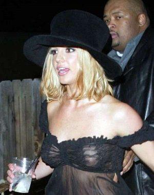 Britney Spears See Through Nip Shot