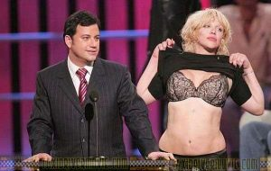 COURTNEY LOVE Flashing Your Bra And Panties? We'll Give You The Attention You Need