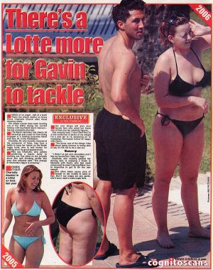 Charlotte Church Overweight In A Bikini. If You Have It, Flaunt It!