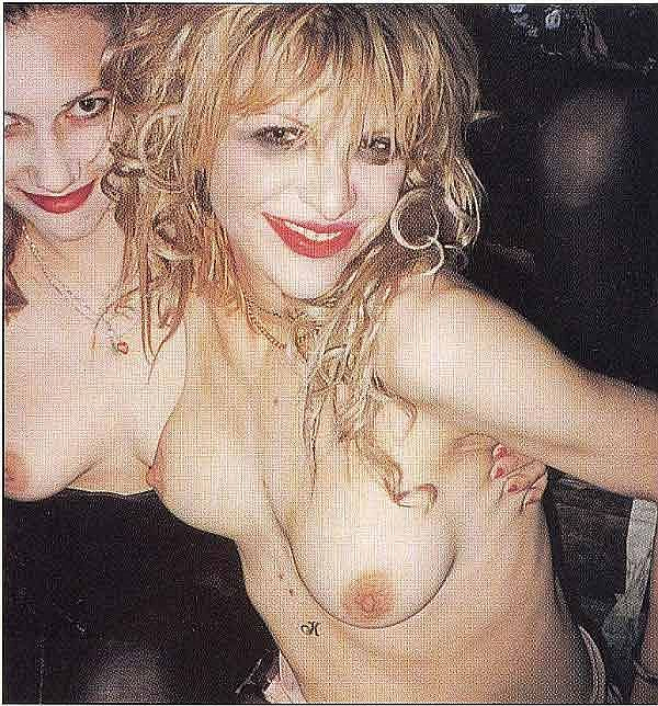Courtney Love Topless And Beyond. Smack Makes For A Sloppy Look.