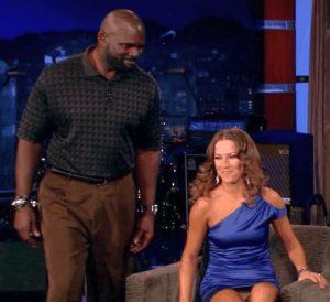 DANCING WITH THE STARS Edyta Sliwinska Panty Upskirt On Jimmy Kimmel Live