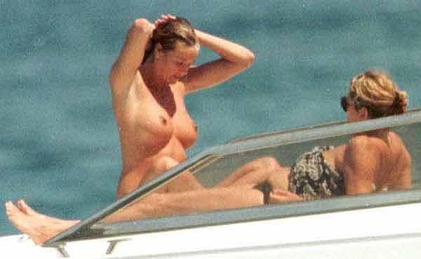 Elle MacPherson Topless In St. Tropez
