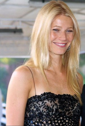 Gwyneth Paltrow See Through Dress. Your Nipple Overshadows Your Smile