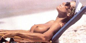 JANE FONDA Sunbathing Topless Makes You A MILF Here!