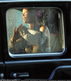 Kate Moss, Undressing In A Taxi? Good Girl!