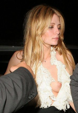MISCHA BARTON, Nice Tit Slip, Need A Little Help In Hiking Up Your Gown?