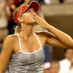 Maria Sharapova, Pokies Comes Out After A Victory, Taxi Driver Thanks YOU!