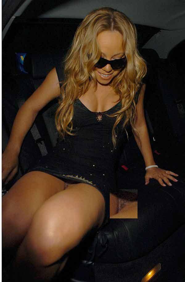 Mariah Carey, No Panties Earns You A Spot On Taxi Driver, And A Close-Up At That!