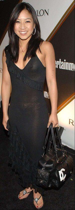 Michelle Kwan See Thru Nip Shot. Dress More Like This!