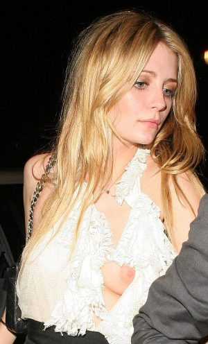 Mischa Barton, See Through Panty Shot, Tease Us some More