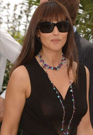 Monica Bellucci See Through Breast Shot. Thanks Goes To Ognis For The Cannes Pic