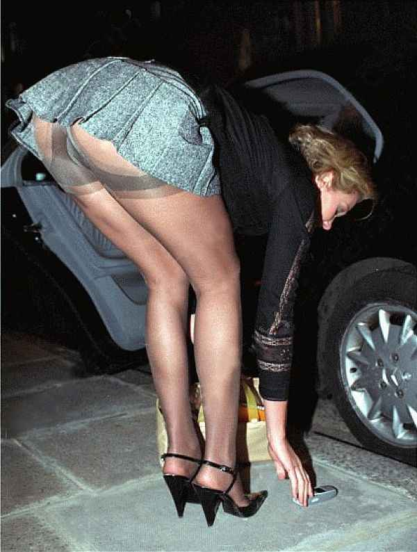 Nell McAndrews, Thanks For Not Squatting At The Knees To Deny Us This Upskirt Shot!