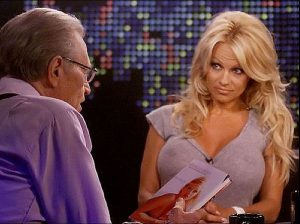Pam Anderson, Pokies On The Red Carpet, And The Larry King Show