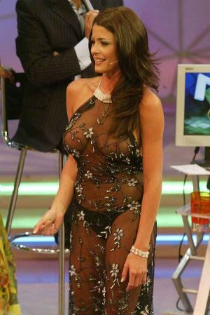 """Pamela David, """"Don't Cry For Me…"""" In Your See Through Outfit"""