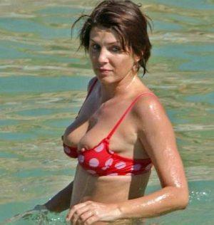 SADIE FROST TWO Nipslips? Time To Buy A New Bikini