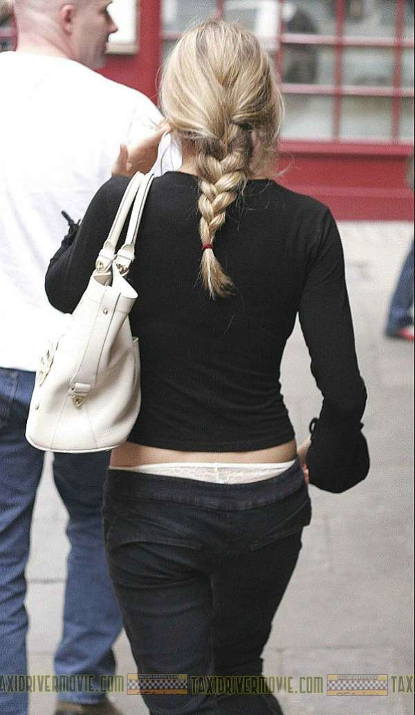 SIENNA MILLER Our Pace Slows Down When We See Your Panties Peeking Out Of Your Pants