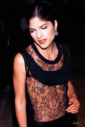 Selma Blair, See Thru Tit Shot Adds Much More To Your Beauty
