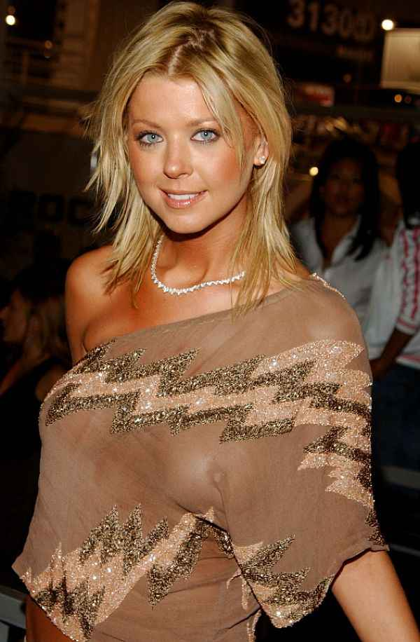 Tara Reid's See Through Boob , And A Lopsided One At That