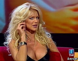 Victoria Silvstedt Nip Slip And Taking Your Calls