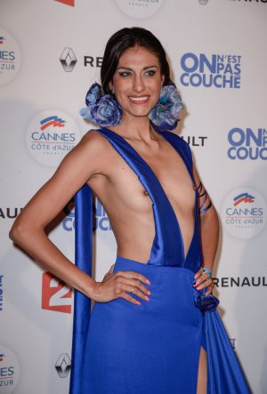 Abigail Lopez Nipples Out on the Red Carpet