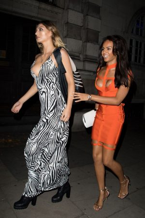Alannah Beirne Nipple Slip on the Sidewalk