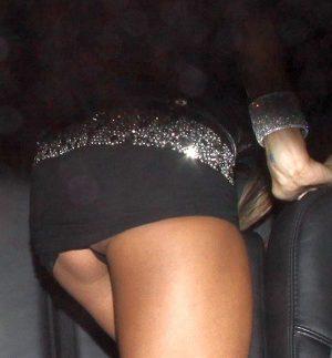 Alessandra Ambrosio Panty Upskirt