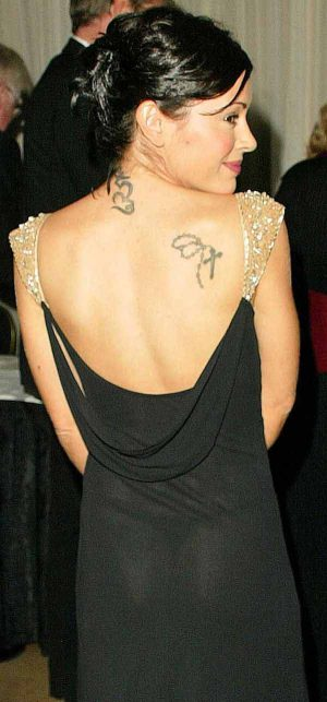 Alyssa Milano, Your See Through Thong Makes The Gown Work.