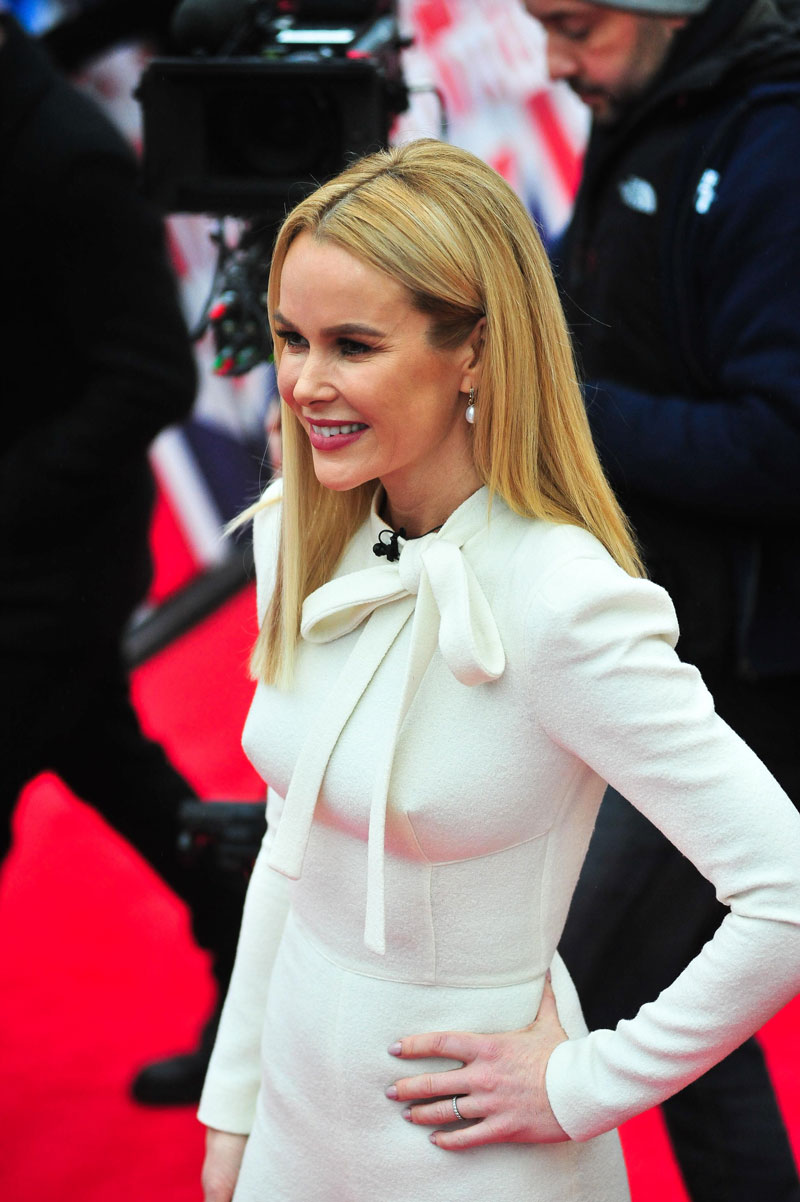 Amanda Holden Tits amanda holden rock hard pokies on the red carpet - taxi
