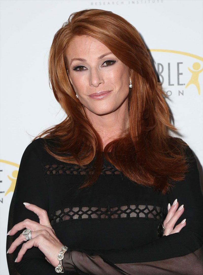 Angie Everhart Hot Sex angie everhart nipple peek on the red carpet - taxi driver movie