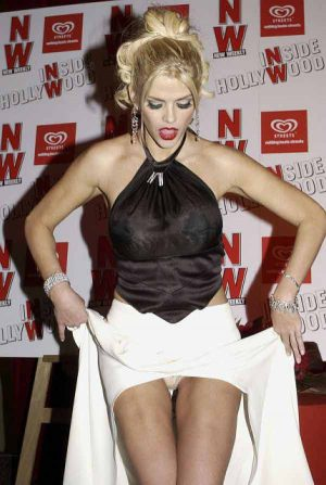 Anna Nicole Smith, With This Forced Panty Upskirt, You're Welcome To Join The Attention Wh ...