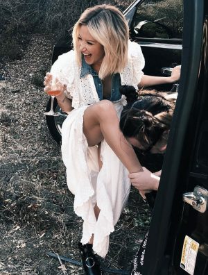 Ashley Tisdale Accidental Upskirt