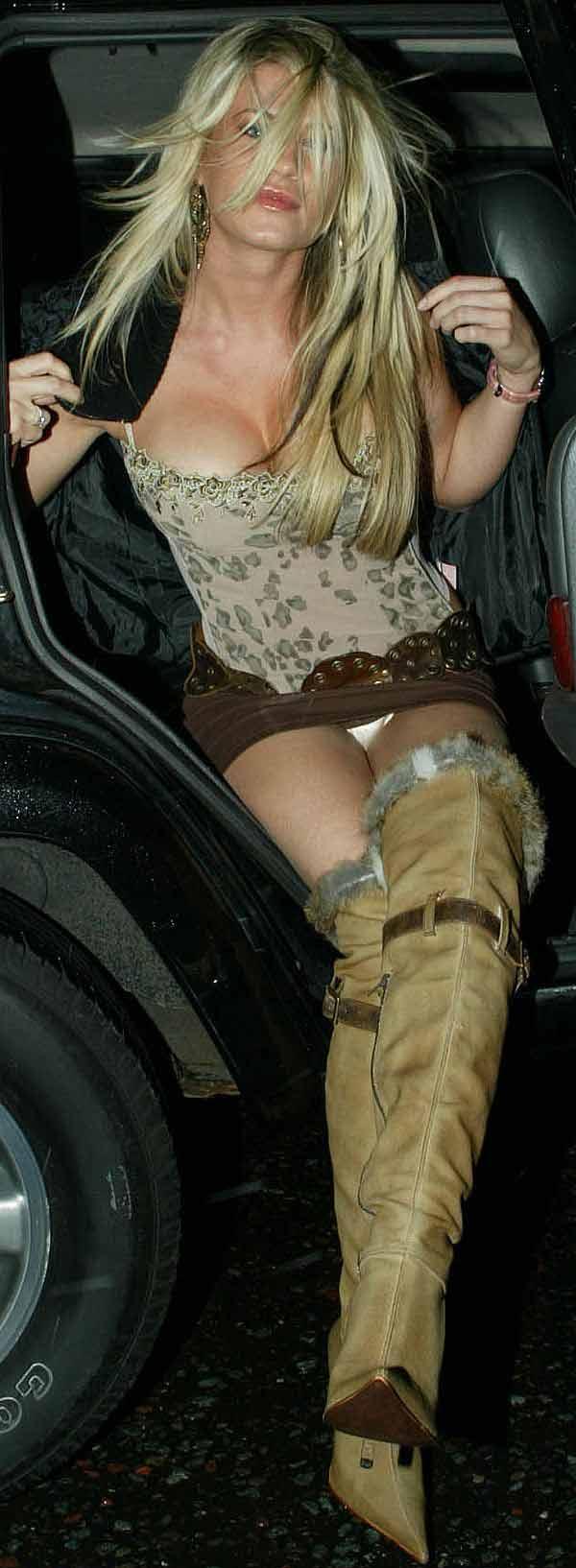 Ashley Massaro Panty Upskirt