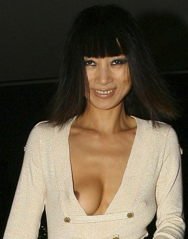 Bai Ling Nip Slip At Cannes