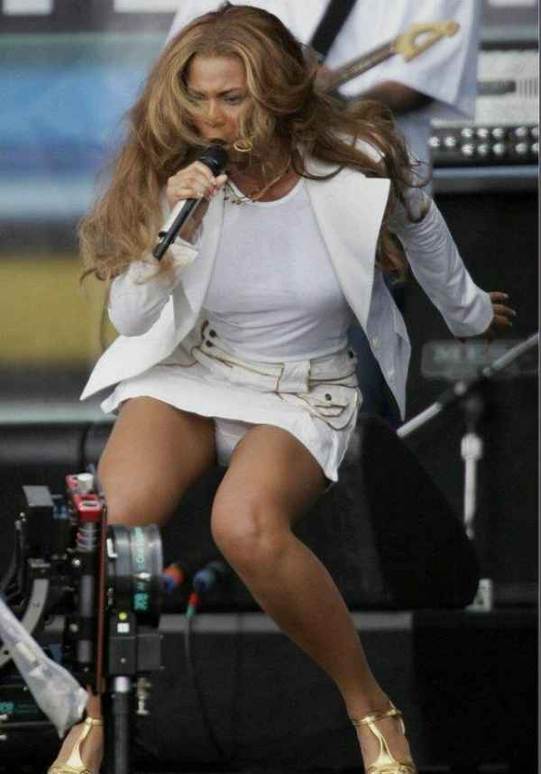 """Beyonce, Panty Upskirt Shot For """"The Pink Panther""""?"""