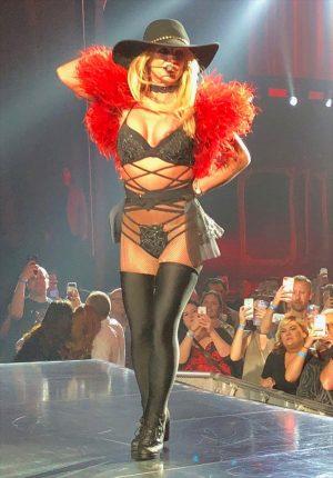 Britney Spears Nip Slip on Stage in Vegas