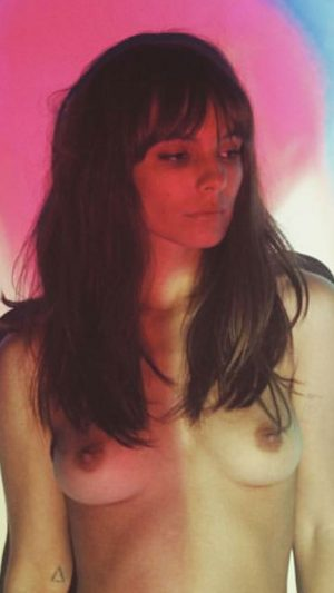 Caitlin Stasey Posts Another Topless Pic to her Instagram
