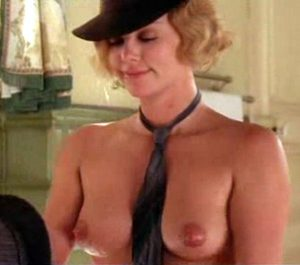 Charlize Theron 36B Breats Enters The Small Breasted Celebrity Arena. Download Link For Clip Below.