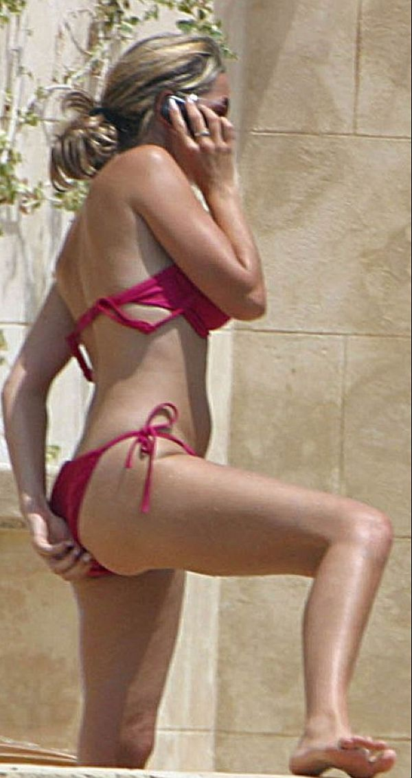 Claire Sweeney Pulling, Poking And Groping In Her Bikini