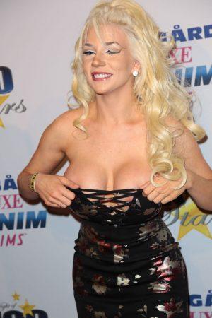 Courtney Stodden Nipple Slip on the Red Carpet