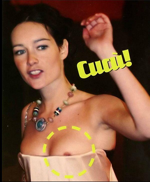 Christiana Capotondi Nip Slip