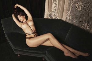 Daisy Lowe Posing Topless for Agent Provocateur