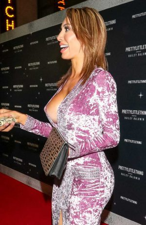 Farrah Abraham Nipple Exposed on the Red Carpet