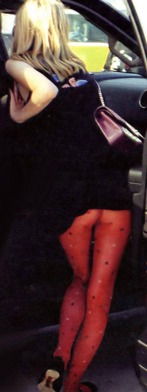 Hania Barton Pantyhose Upskirt, Mischa's Sister Moving Into The Edge Of The Spotlight