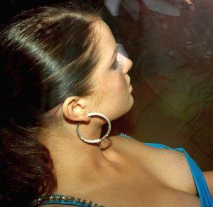British Actress Helen Flanagan Nipple Peek