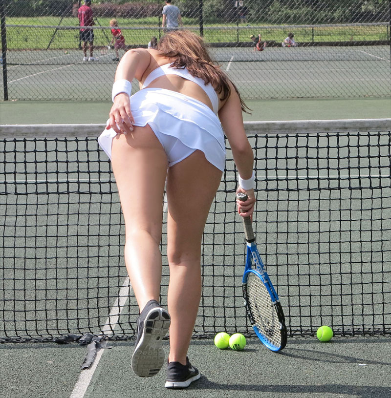 Agree, very Sexy tennis pic upskirts not right