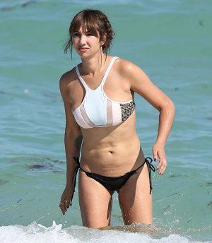 Jackie Cruz Silver Dollar Sized Areolas in Windowed Bikini Top