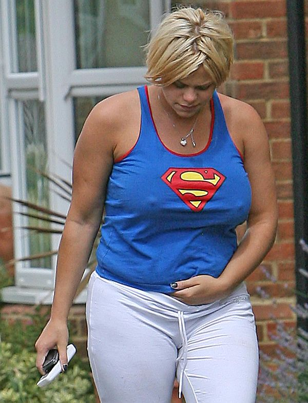 Jade Goody Pokies. Or Whatcha Doing With Your Hand? Thanks To Matt From NEWSPICS LTD.