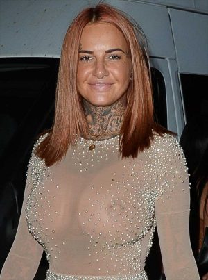 Jemma Lucy in Totally See Through Dress